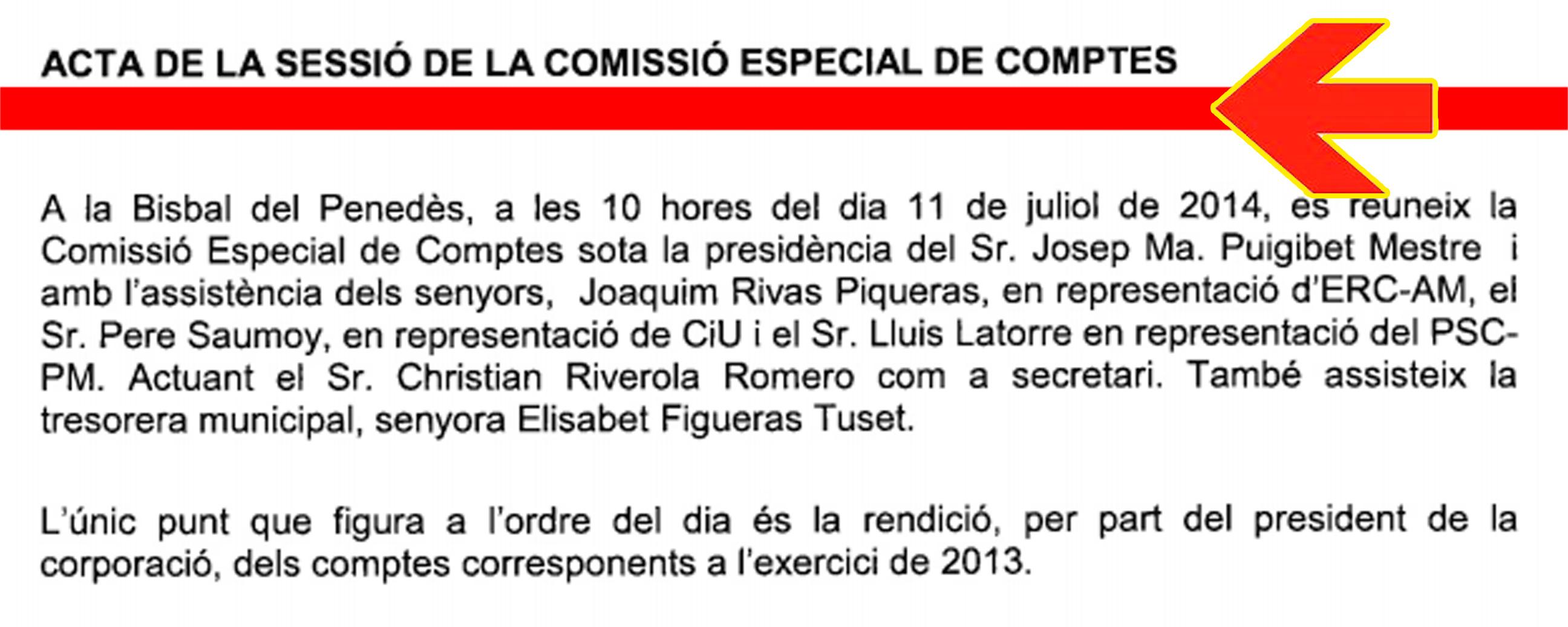 Comissió Especial de Comptes