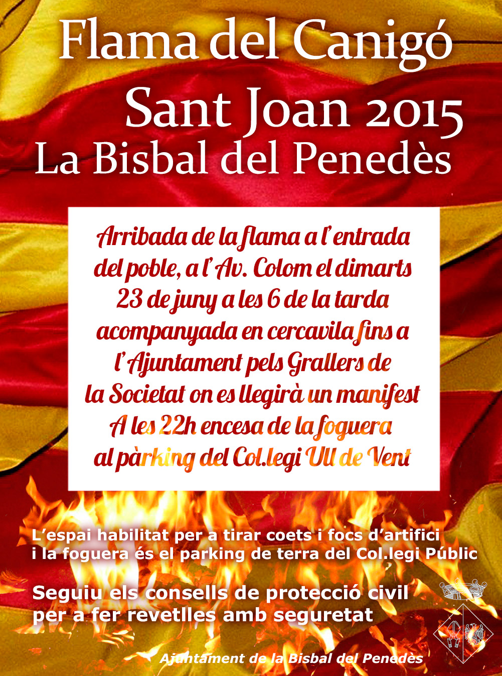Ajuntament de la bisbal del pened s sant joan 2015 la - Tiempo la bisbal del penedes ...