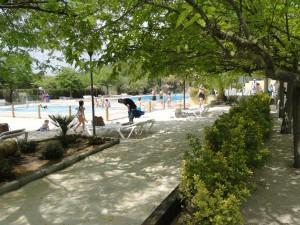 piscina banyistes