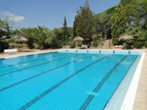 vista piscina panoràmica