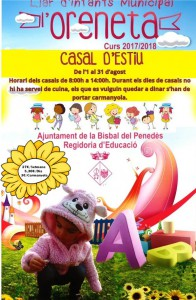 cartel casal d estiu llar d infants - agost 2017-revision
