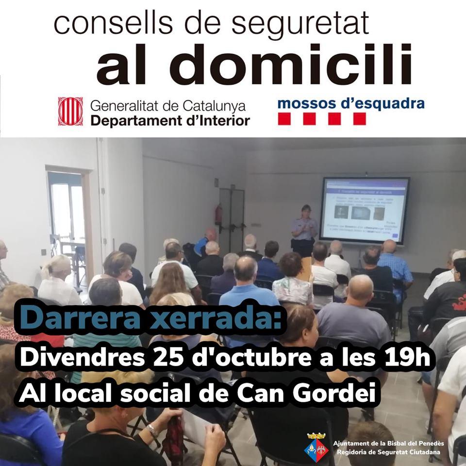 xerrada mossos 25 octubre