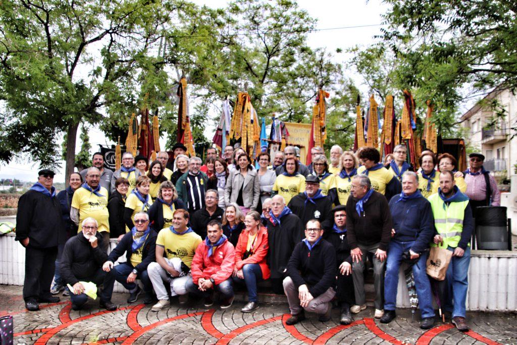 TROBADA TRES TOMBS 2018-AUTORITATS I VOLUNTARIS
