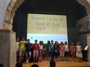 concert fi de curs escola musica