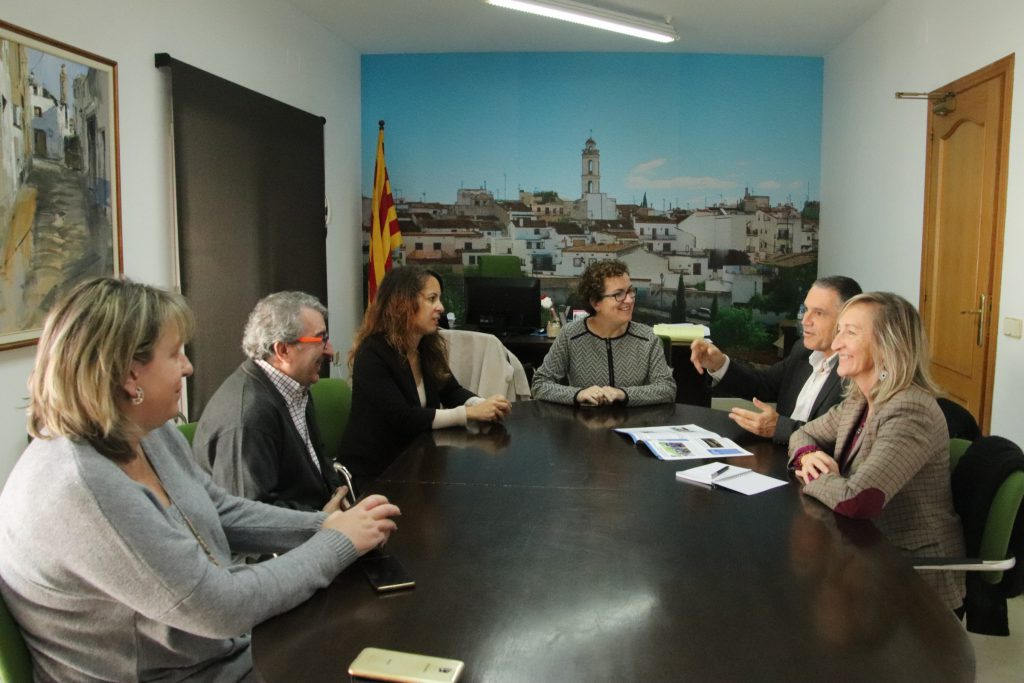 Visita Pere Regull i Montserrat Carreras