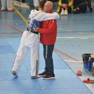 David Ruiz amb el mestre Alberto Calvo