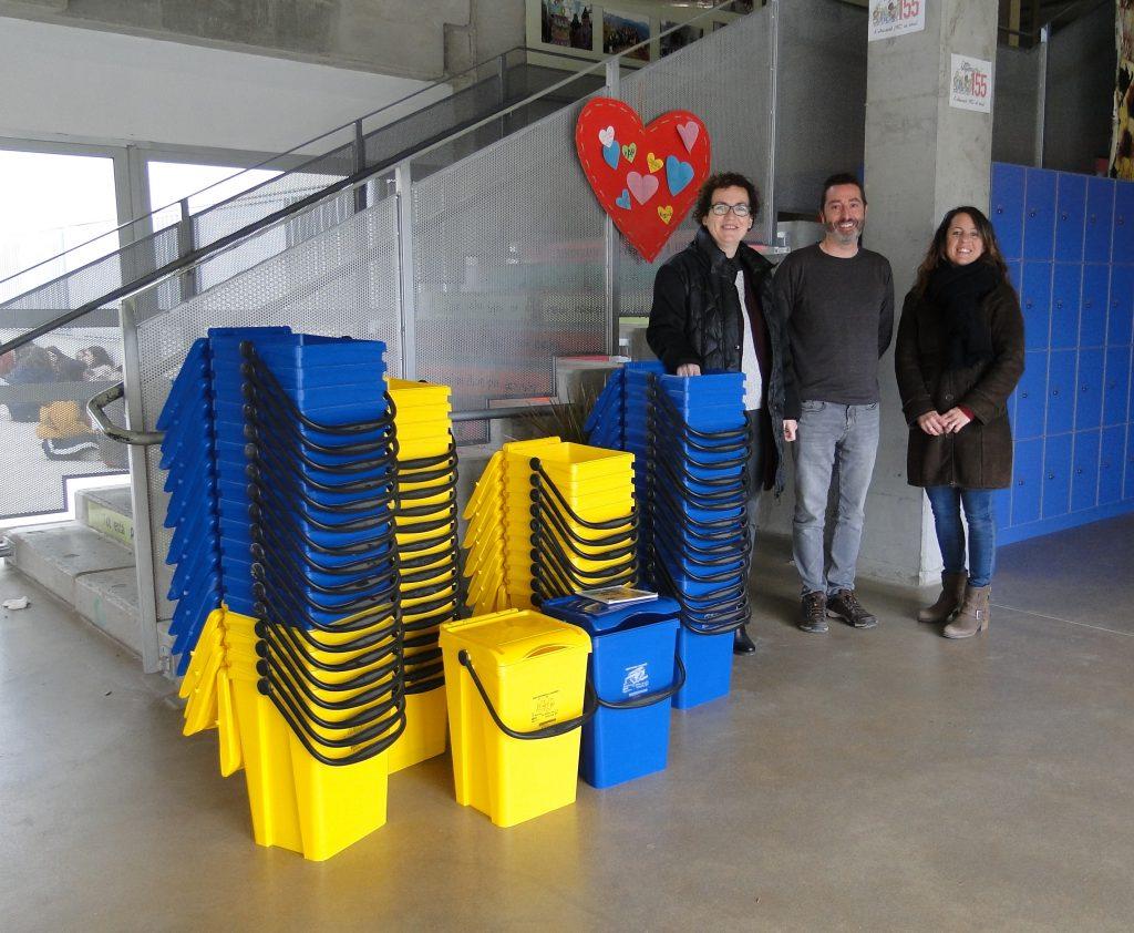 Institut donacio cubells reciclatge