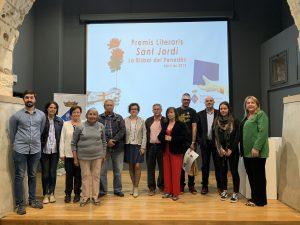 Imatge d'arxiu. Entrega de premis del Concurs Literari de l'any 2019.