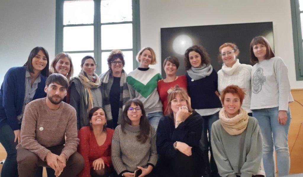 Fotografia de grup dels participants en el programa