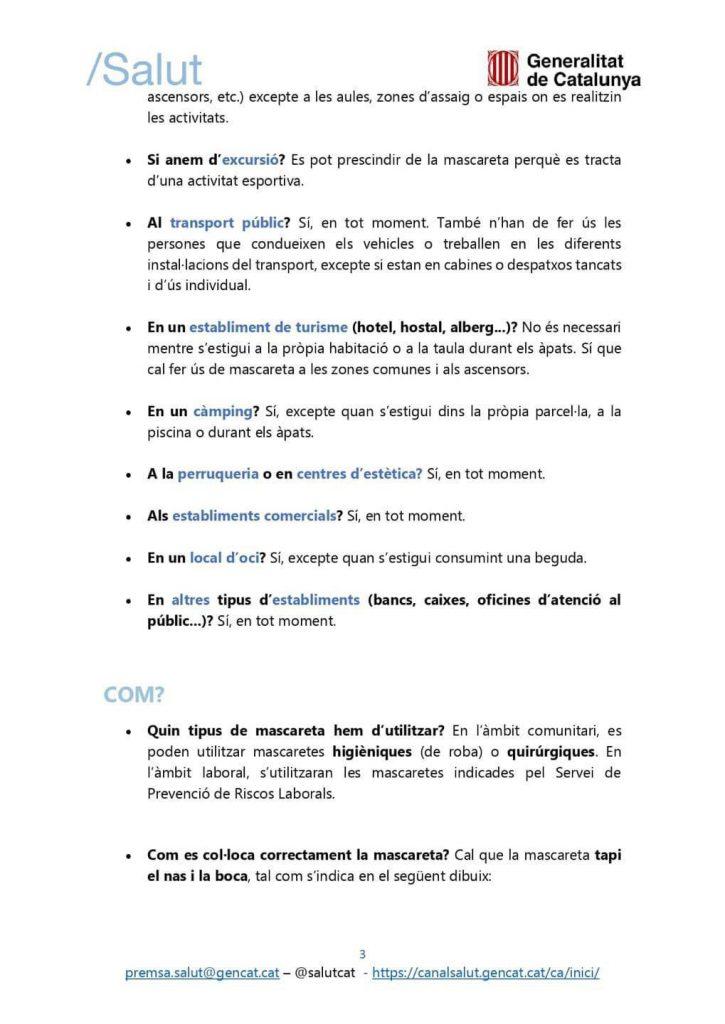 FAQS MASCARETA 3