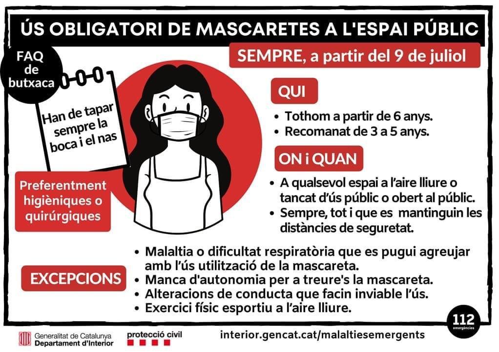 us obligatori masacarta gencat infografia 9 juliol