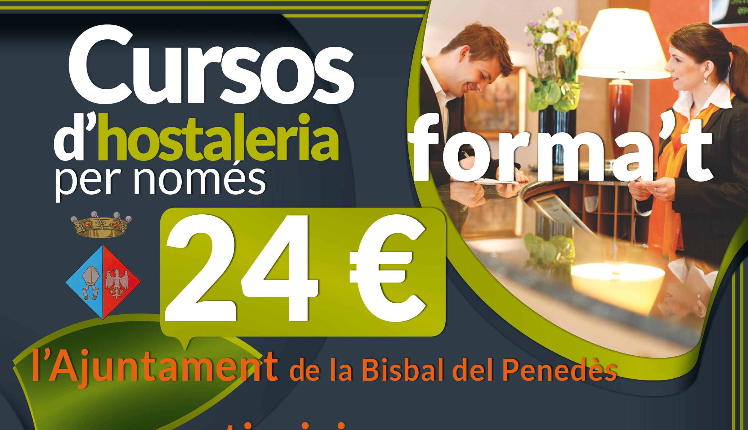 Cursos d'Hostaleria per tant sols 24€