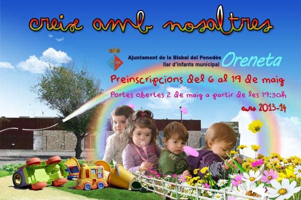 Llar Infants 2013, preinscripcions i portes obertes