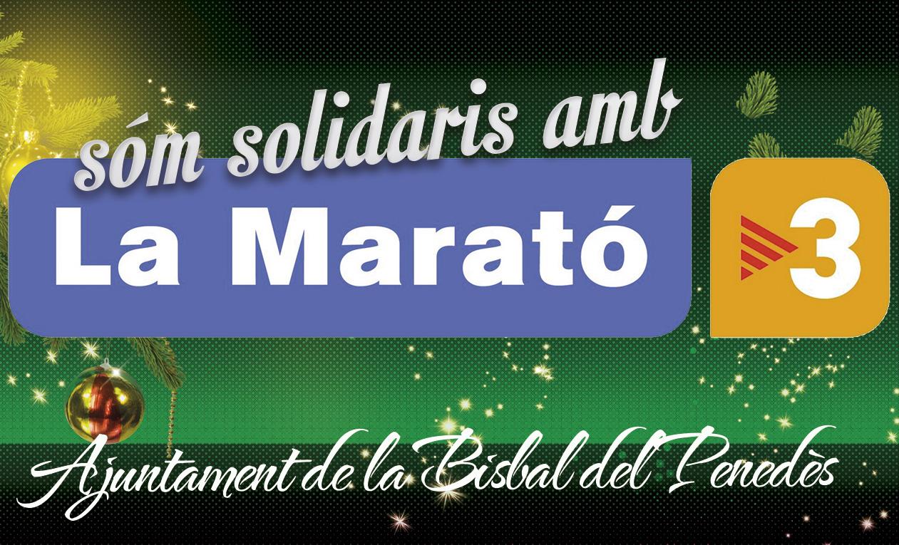 Som solidaris amb la Marató