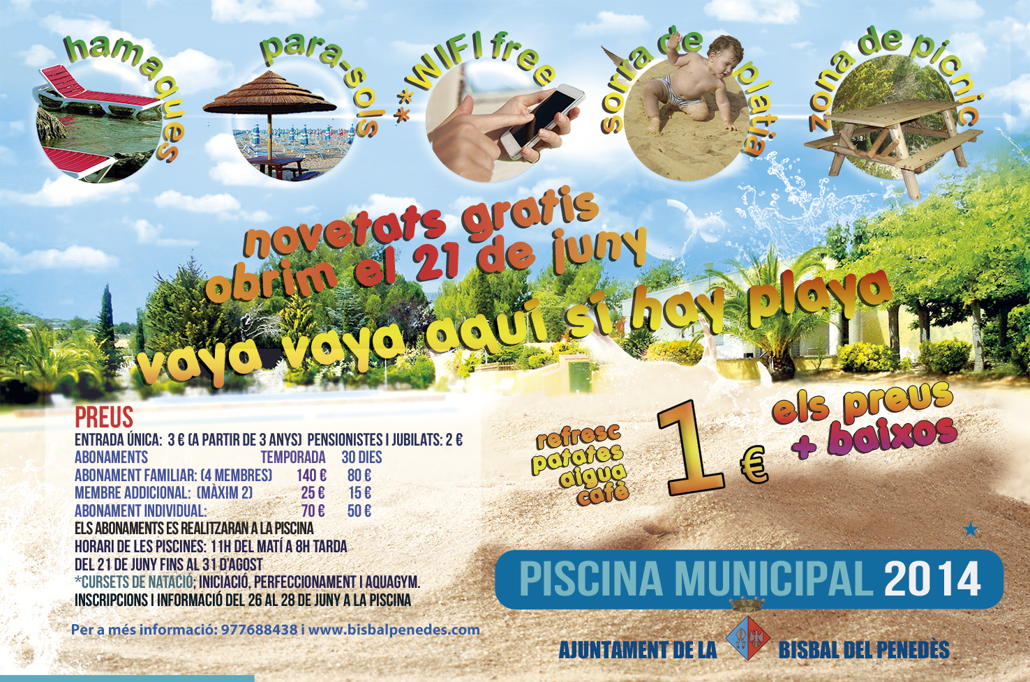 Piscina municipal 2014