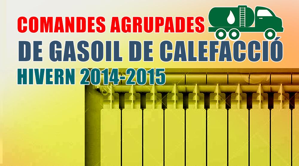 Comandes Agrupades de Gas oil 2014