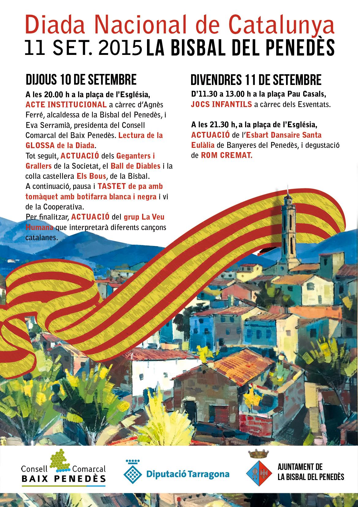 Diada Nacional de Catalunya, actes