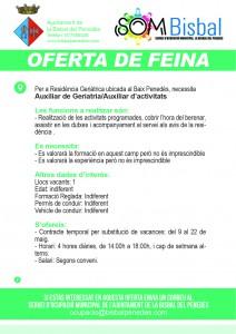 oferta de feina geriatria
