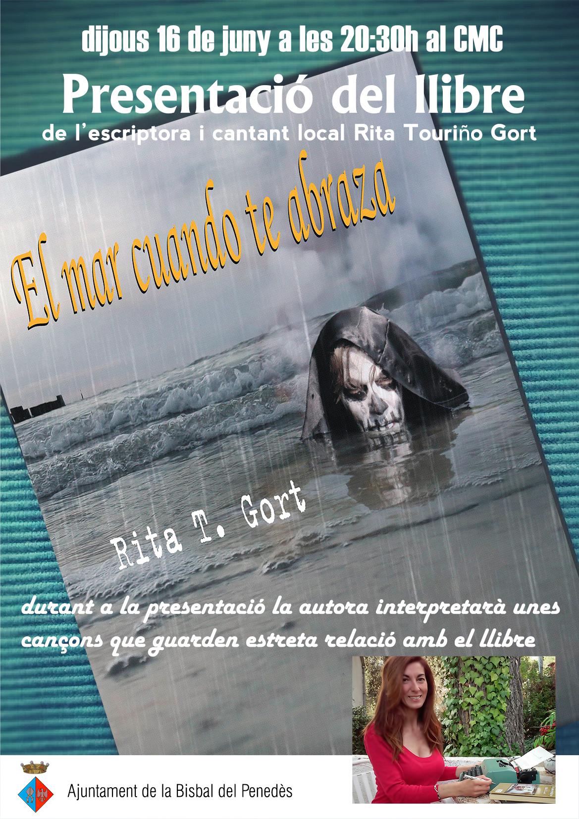 Presentació del llibre – El mar cuando te abraza-