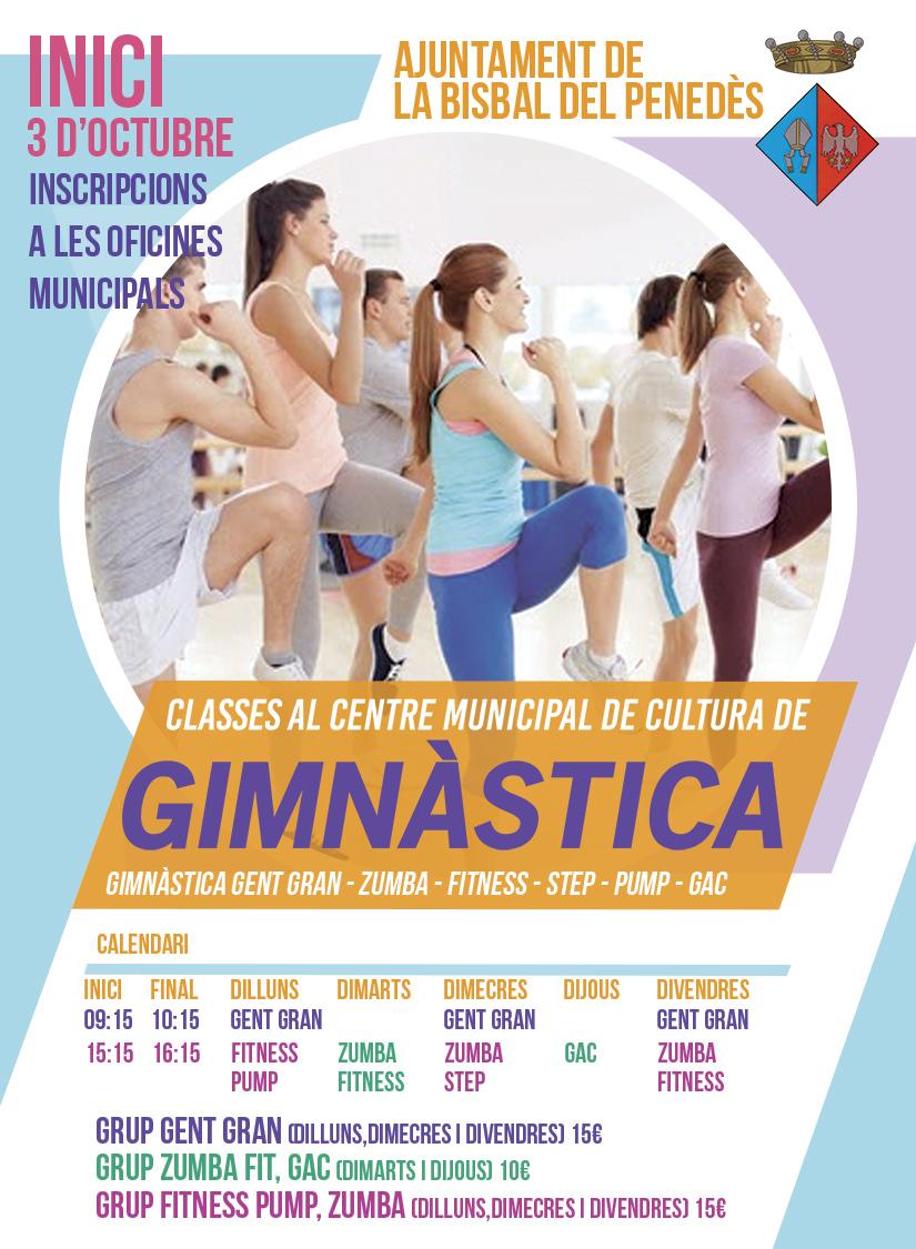 Classes de gimnàstica
