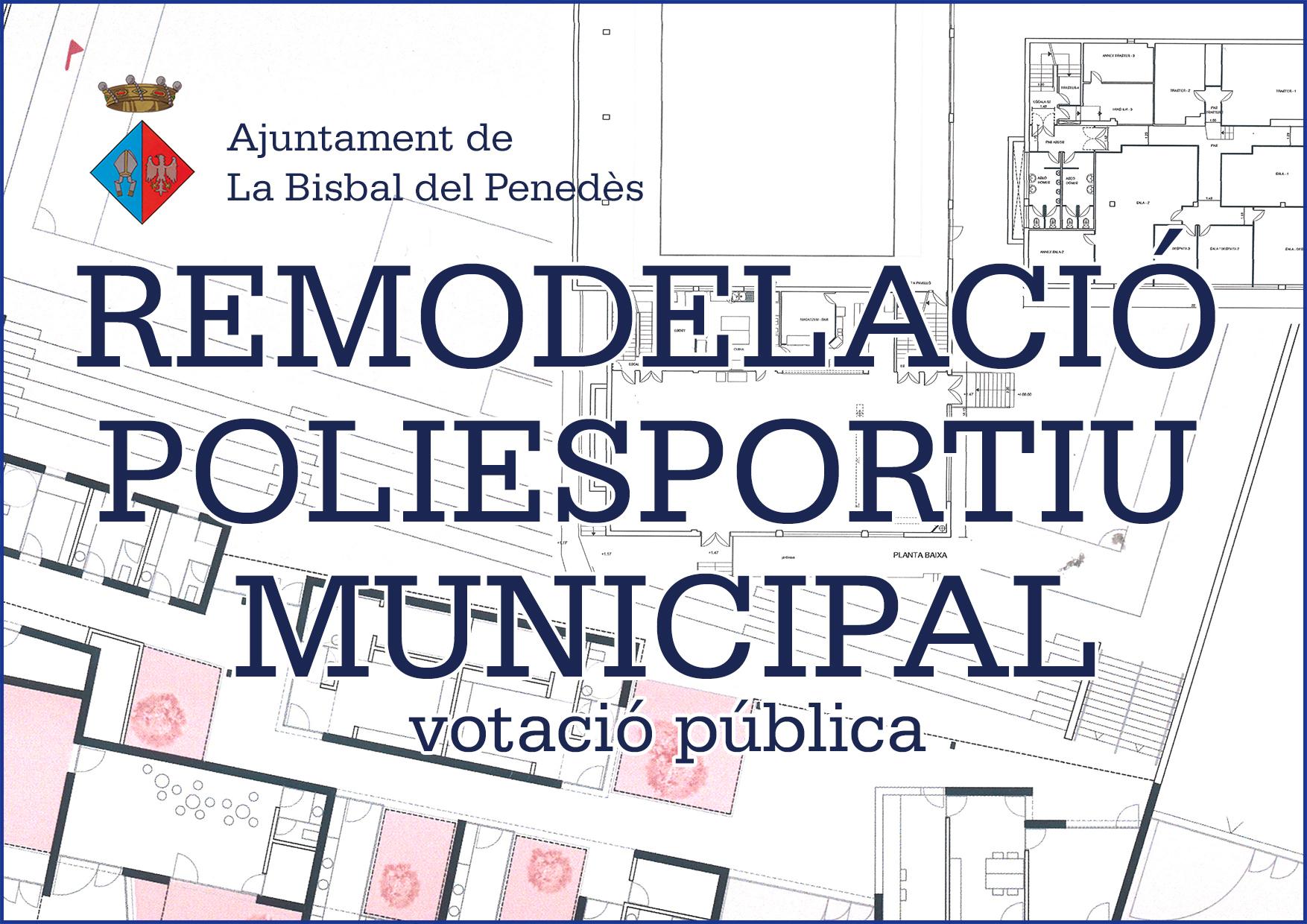 REMODELACIÓ POLIESPORTIU MUNICIPAL