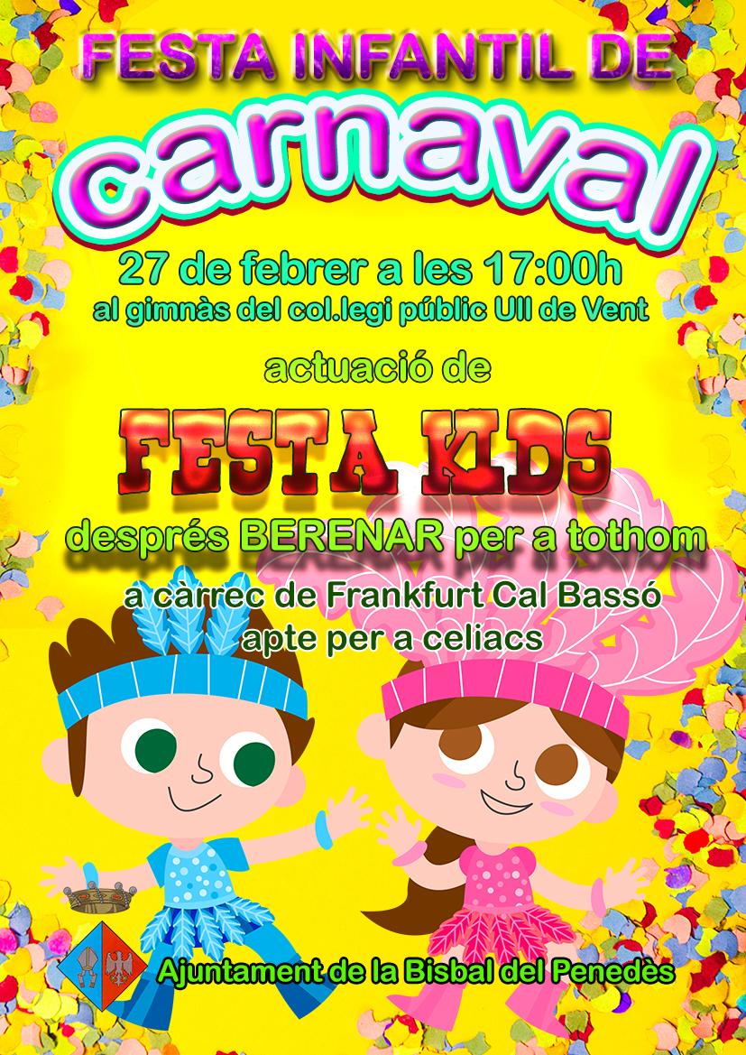 Carnaval Infantil a l'Escola Ull de Vent