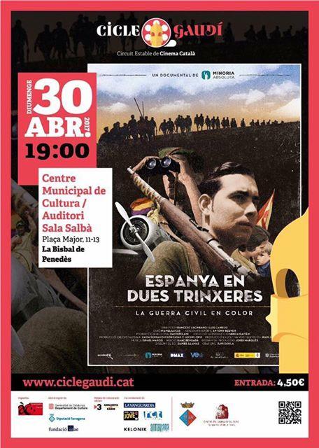 Avui diumenge comença el Cicle Gaudí de cinema català a La Bisbal del Penedès