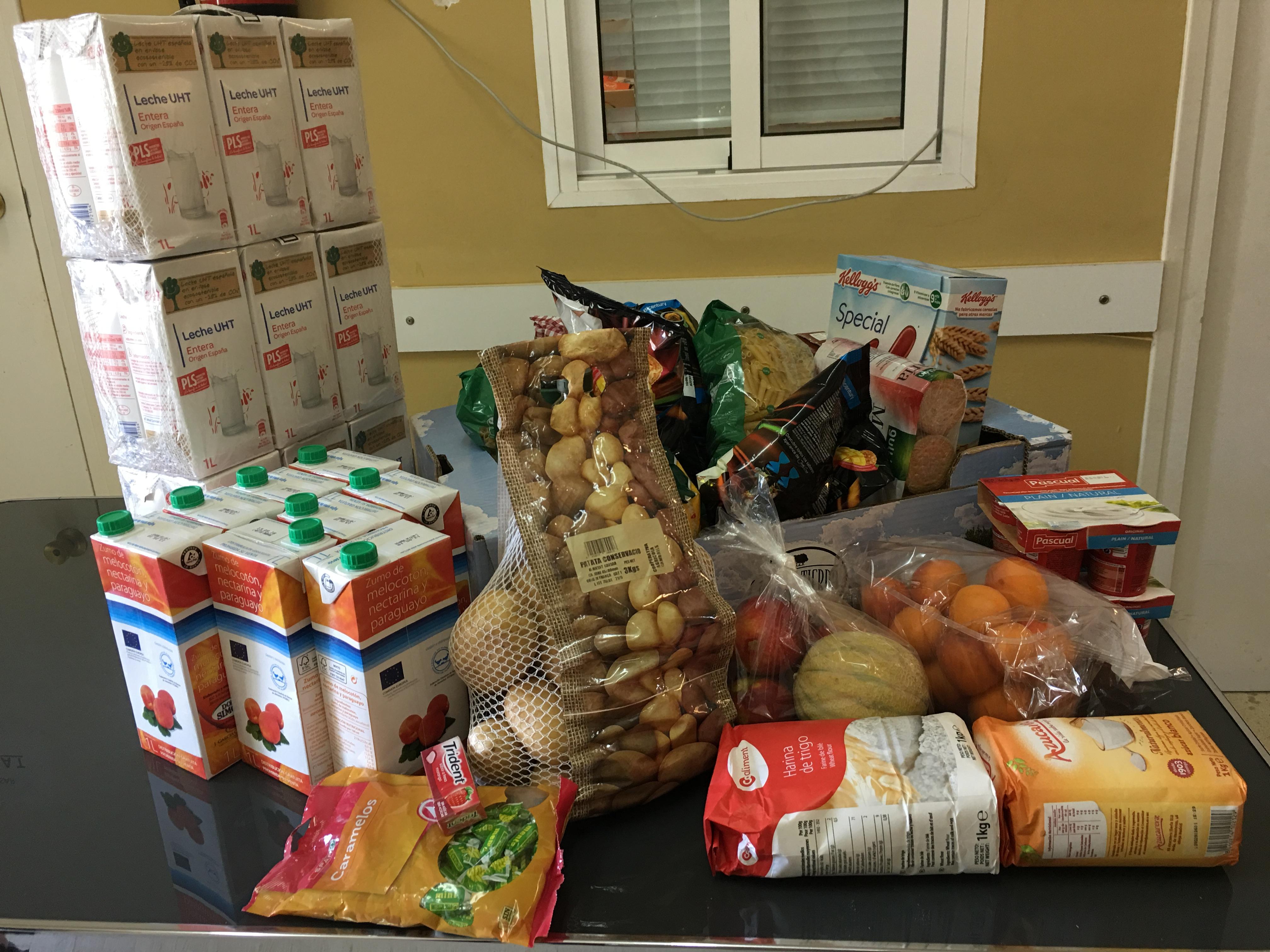 La Regidoria de Benestar Social ajuda a 44 famílies a tirar endavant a través del Banc dels Aliments