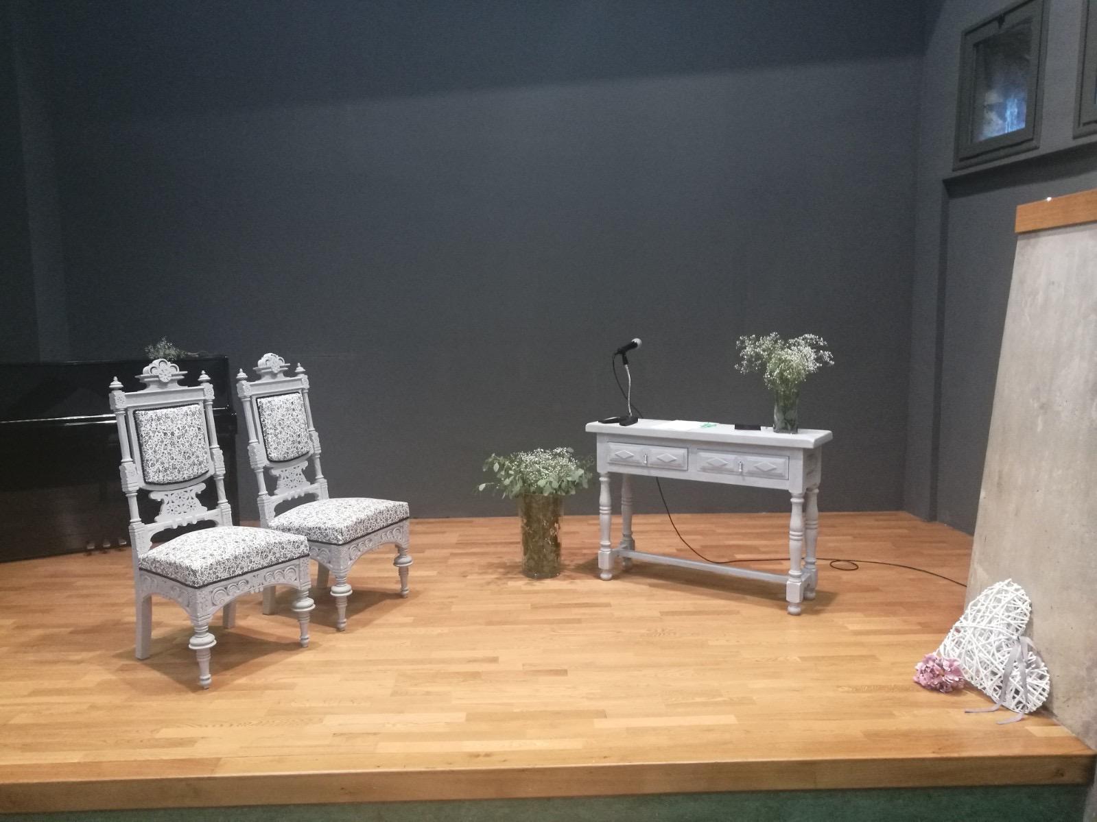 L'Ajuntament renova l'ornamentació de la Sala de l'Auditori Salbà pels casaments civils