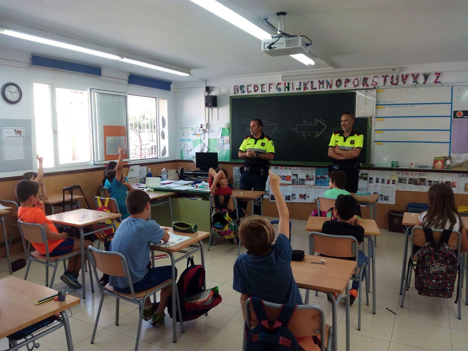 La Regidoria d'Educació fomenta l'educació viària entre els infants