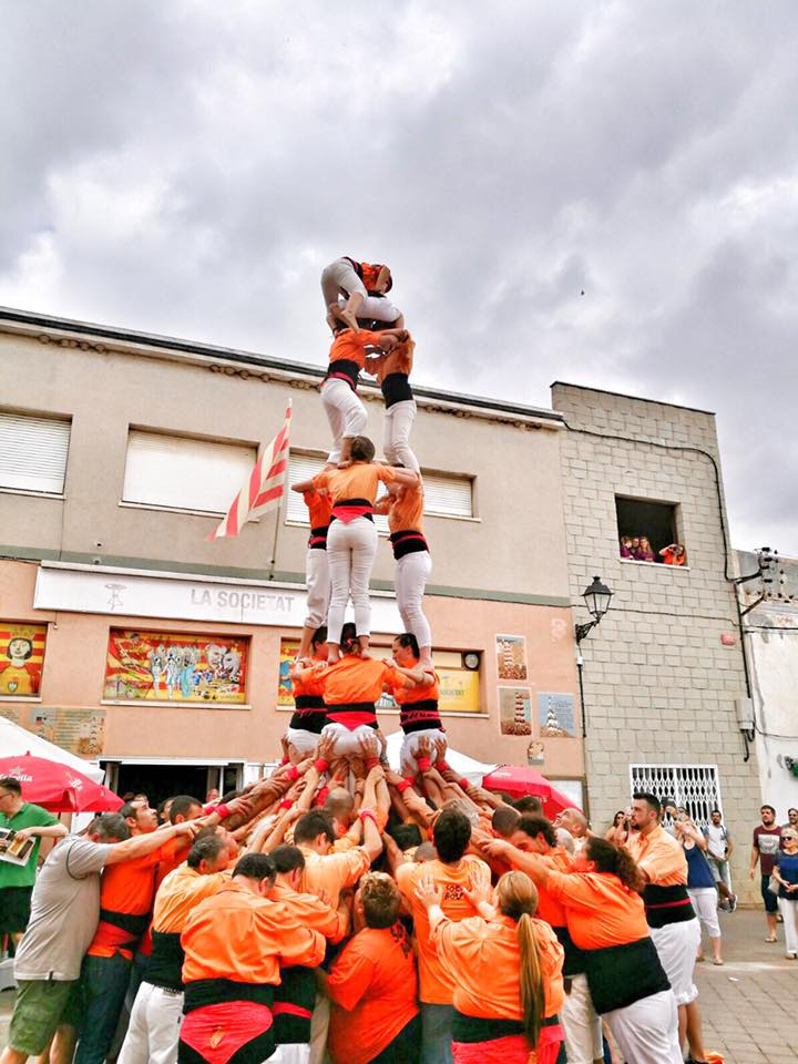 L'Ajuntament de La Bisbal del Penedès subvenciona amb 3.000€ la Colla Castellera Els Bous de La Bisbal
