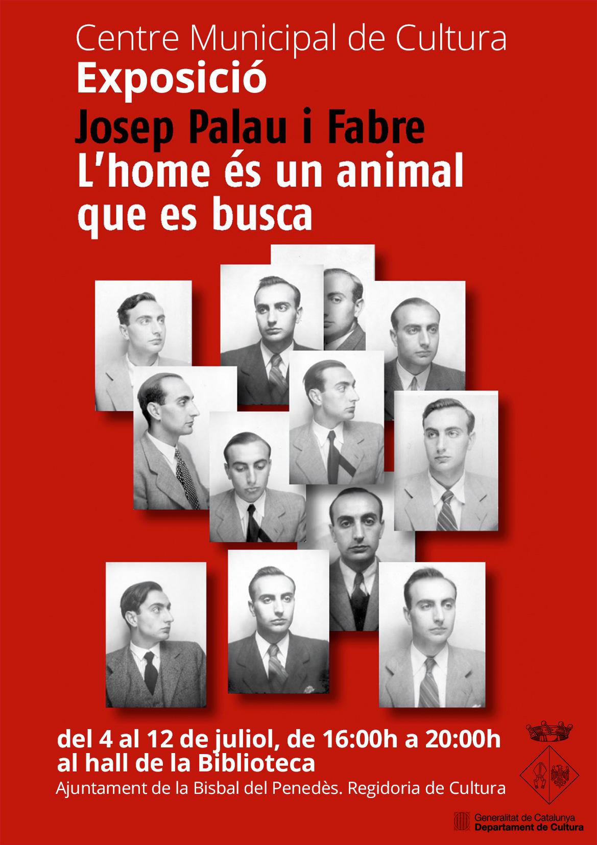 Nova exposició a la Biblioteca de La Bisbal sobre la figura de Josep Palau i Fabre