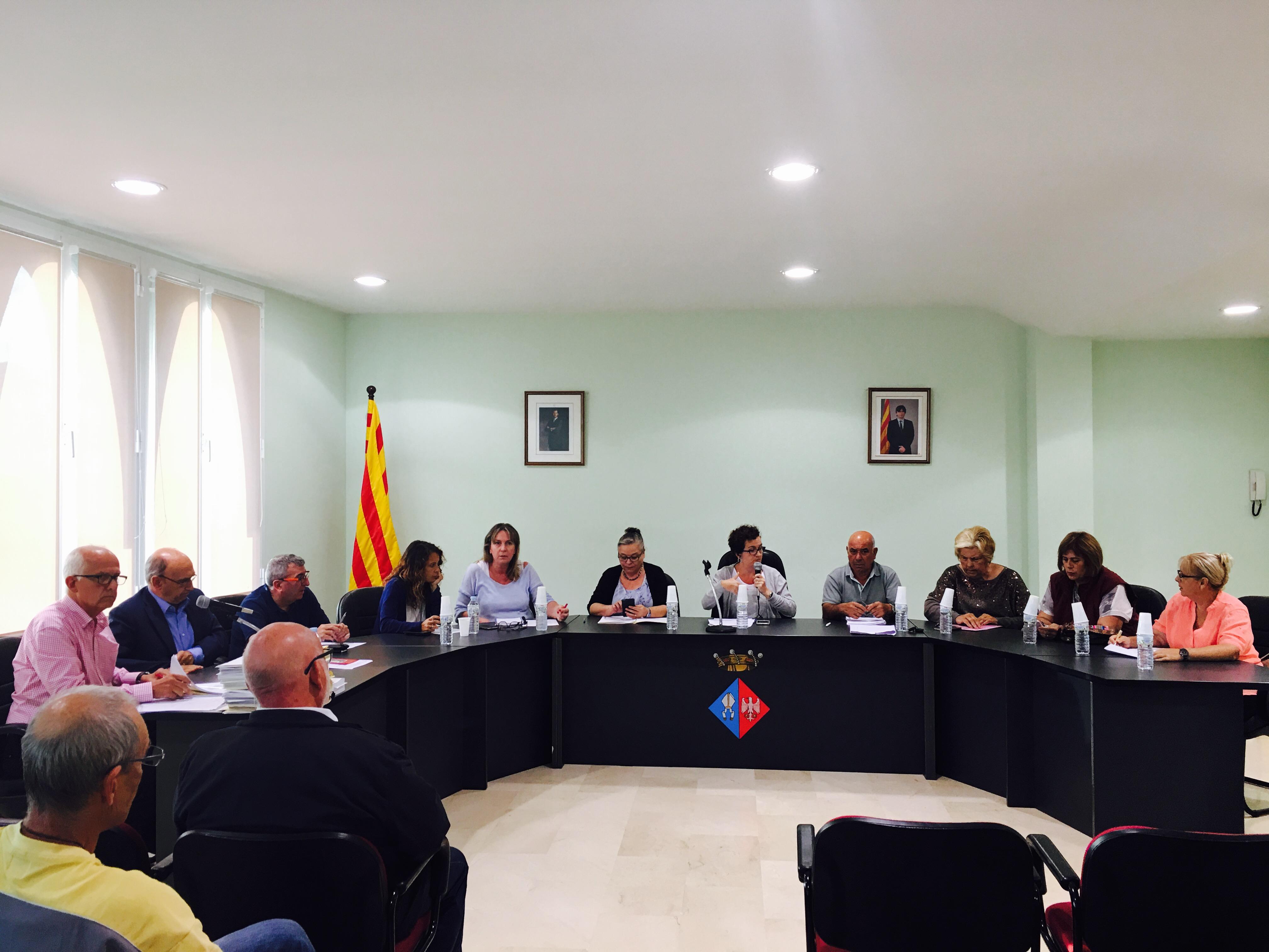 Dimecres 25 d'octubre a les 18h tindrà lloc una sessió extraordinària del Ple de l'Ajuntament de La Bisbal del Penedès