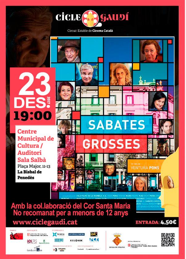 El dissabte 23 de desembre a les 19h podreu veure 'Sabates Grosses' al CMC