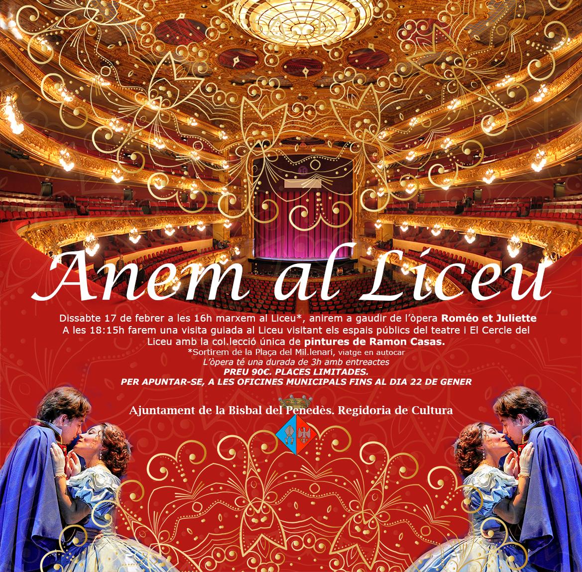 ENTRADES EXHAURIDES per anar a veure 'Roméo et Juliette' el 17 de febrer al Liceu