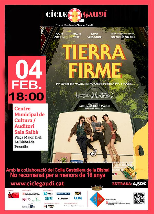El diumenge 4 de febrer podreu veure la pel·lícula 'Tierra firme' al CMC en el marc del Cicle Gaudí