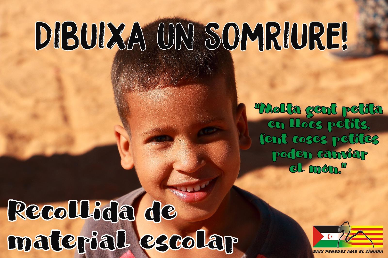 La Biblioteca Pública participa en la campanya de recollida de material escolar per als nens saharauís