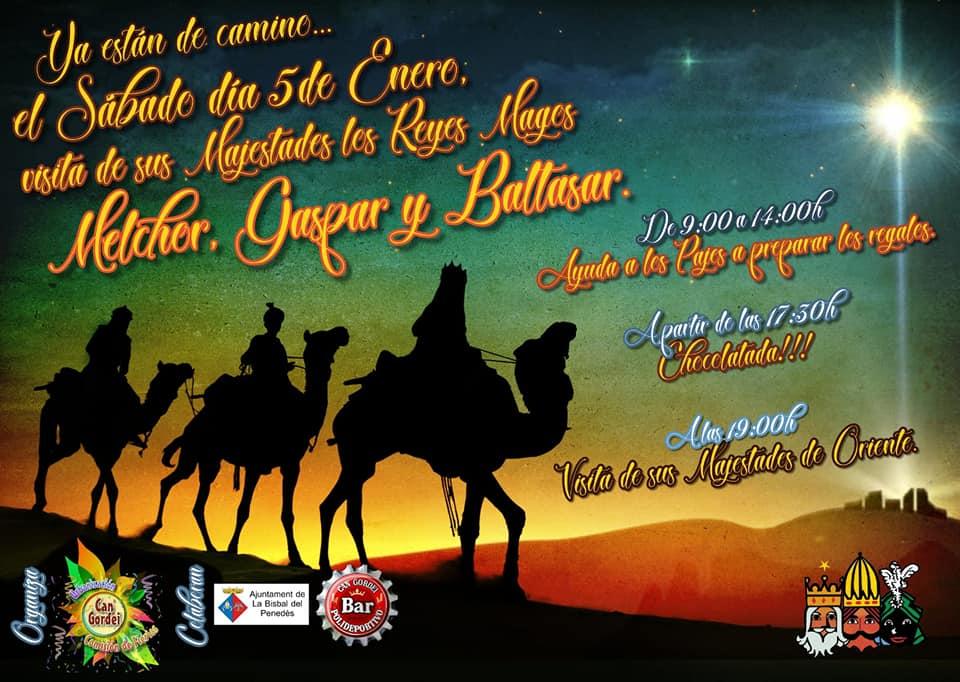 La Comissió de Festes de Can Gordei i el Bar Polideportivo de Can Gordei han organitzat un pessebre vivent i una xocolatada