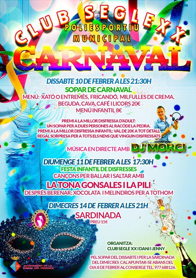 Carnaval 2018 al Poliesportiu Municipal