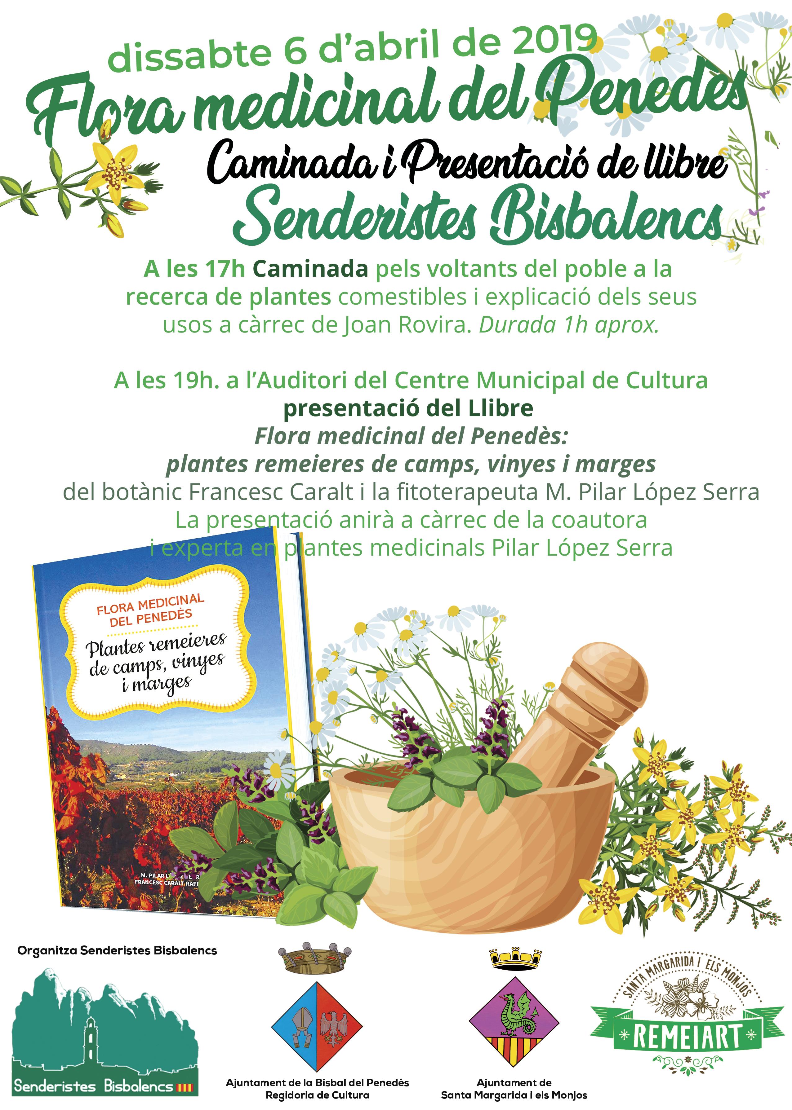 Vols conèixer les plantes remeieres que pots trobar a la Bisbal i al Penedès?