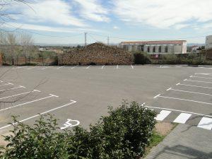 pintura parking llar infants