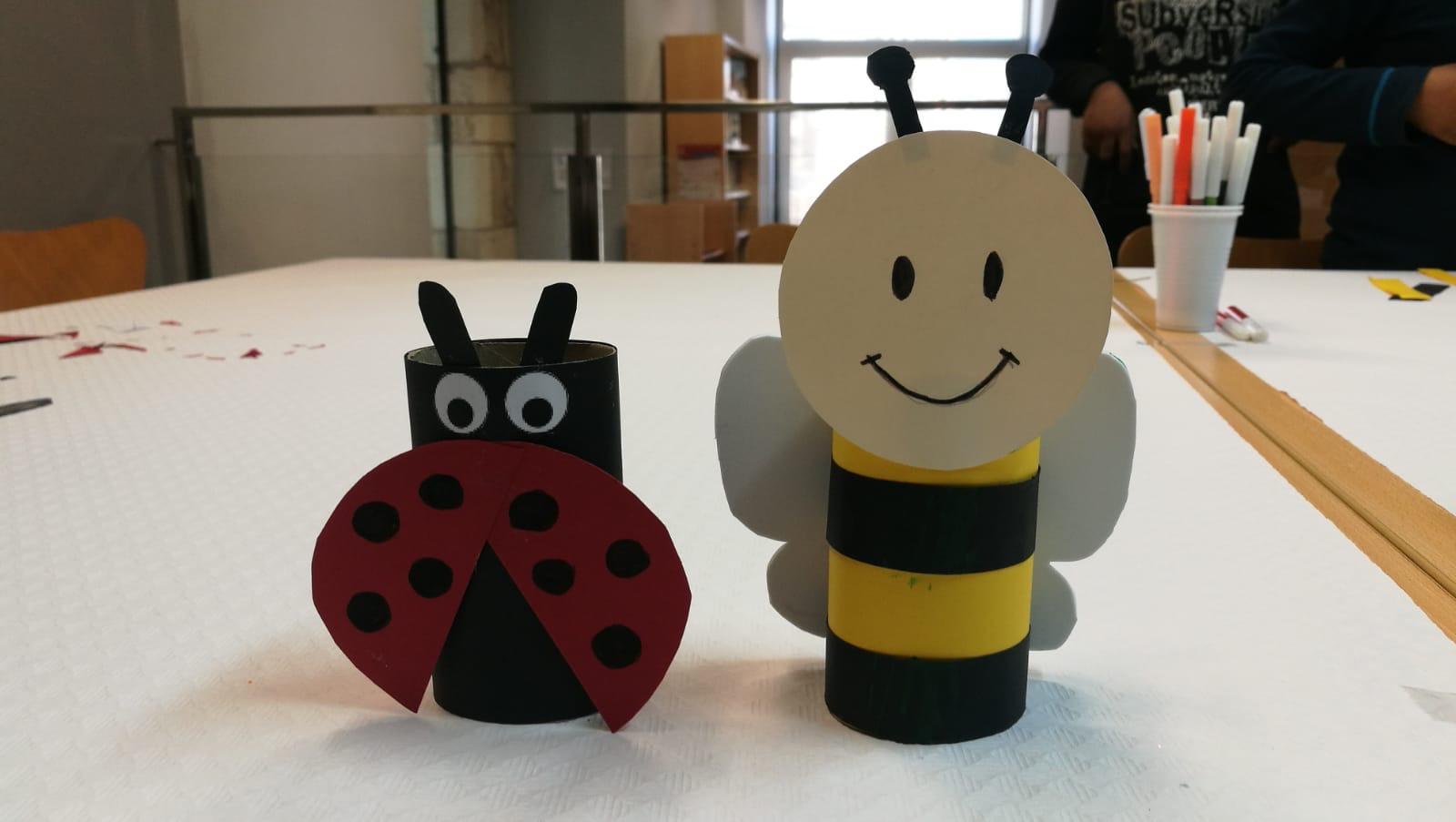 Aquest dimecres ha tingut lloc un taller infantil a la Biblioteca de la Bisbal i dissabte hi haurà contacontes