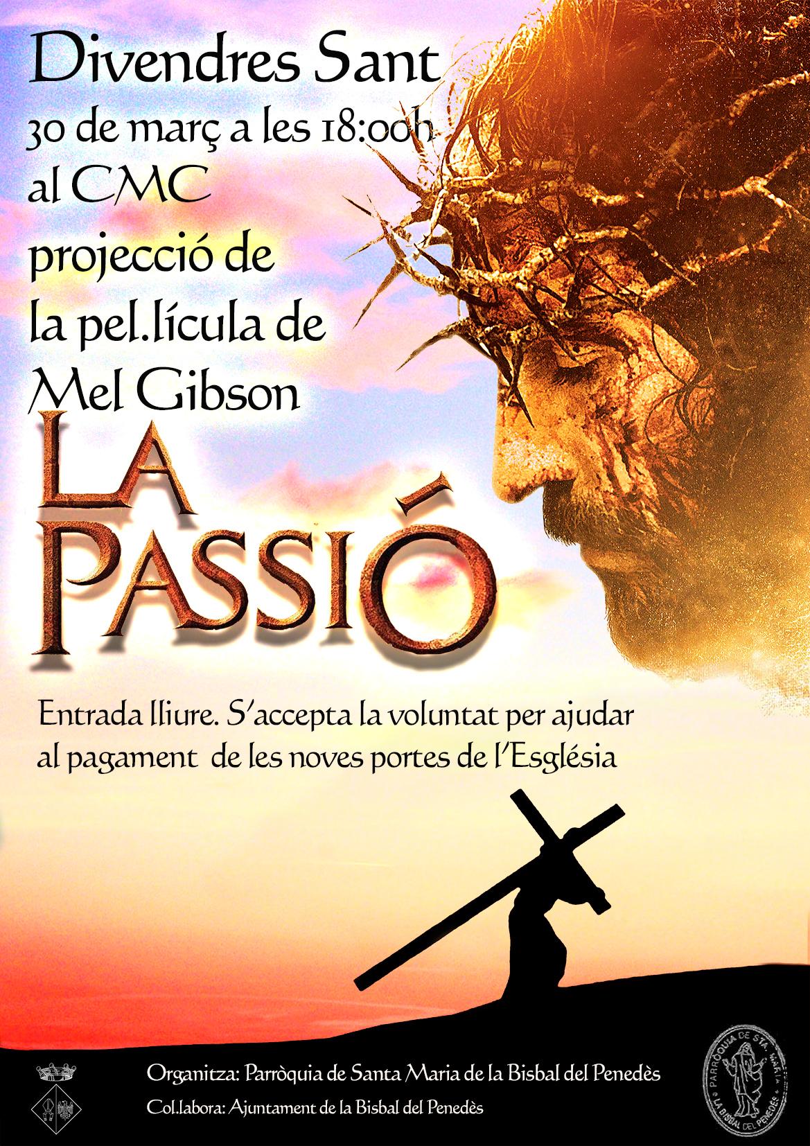 Aquest divendres podreu veure la pel·lícula 'La passió' al CMC