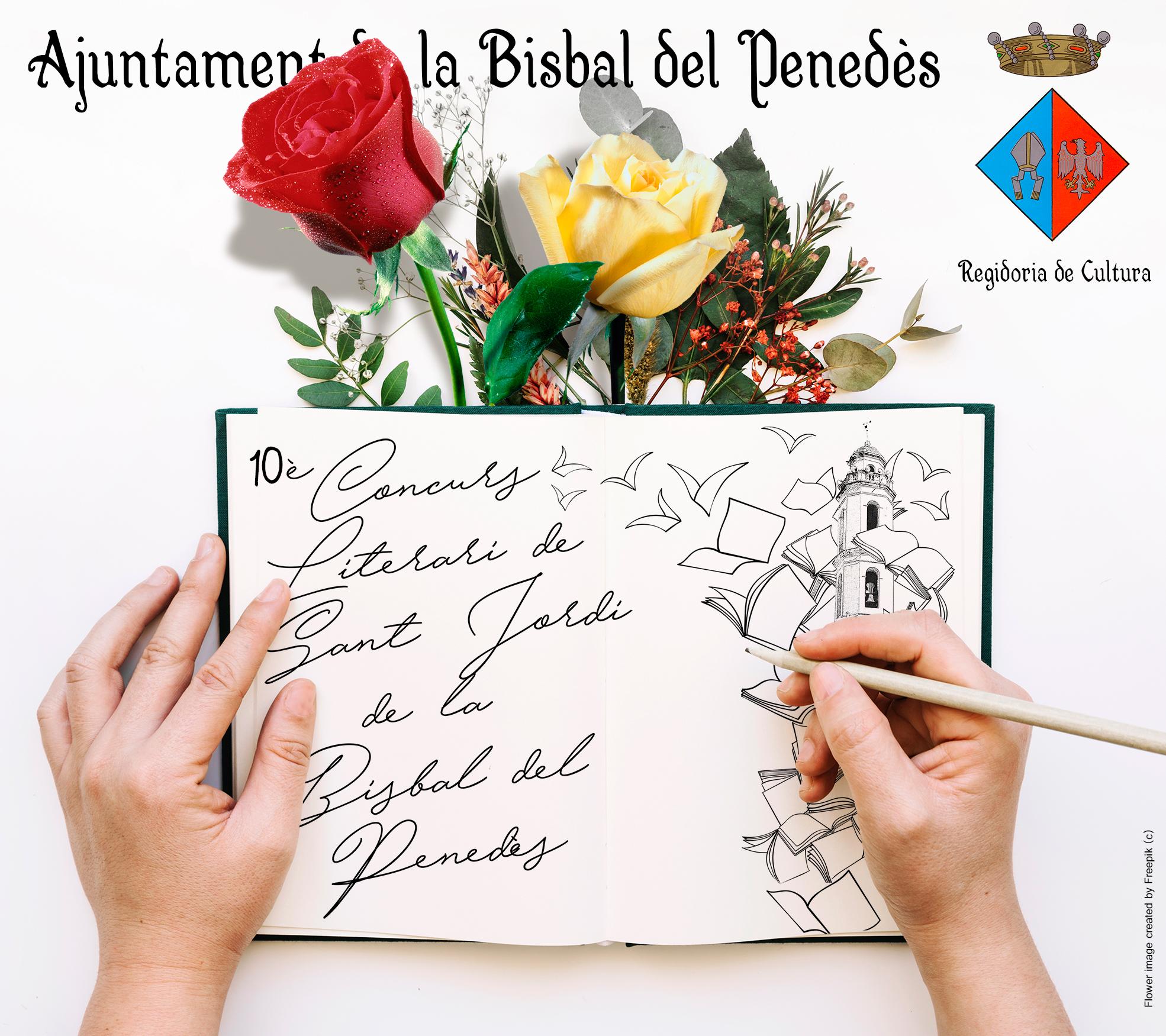S'obre la convocatòria per presentar treballs a la 10a edició del Concurs Literari de Sant Jordi de la Bisbal