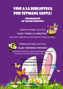 cartell BIBLIOTECA SETMANA SANTA-1