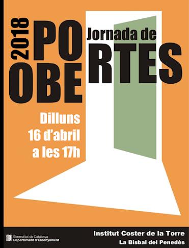 Jornada de portes obertes i preinscipcions a l'Institut Coster de la Torre