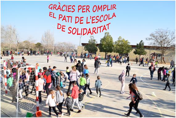 L'Escola Ull de Vent ha recaptat 466,55€ en la cursa solidària