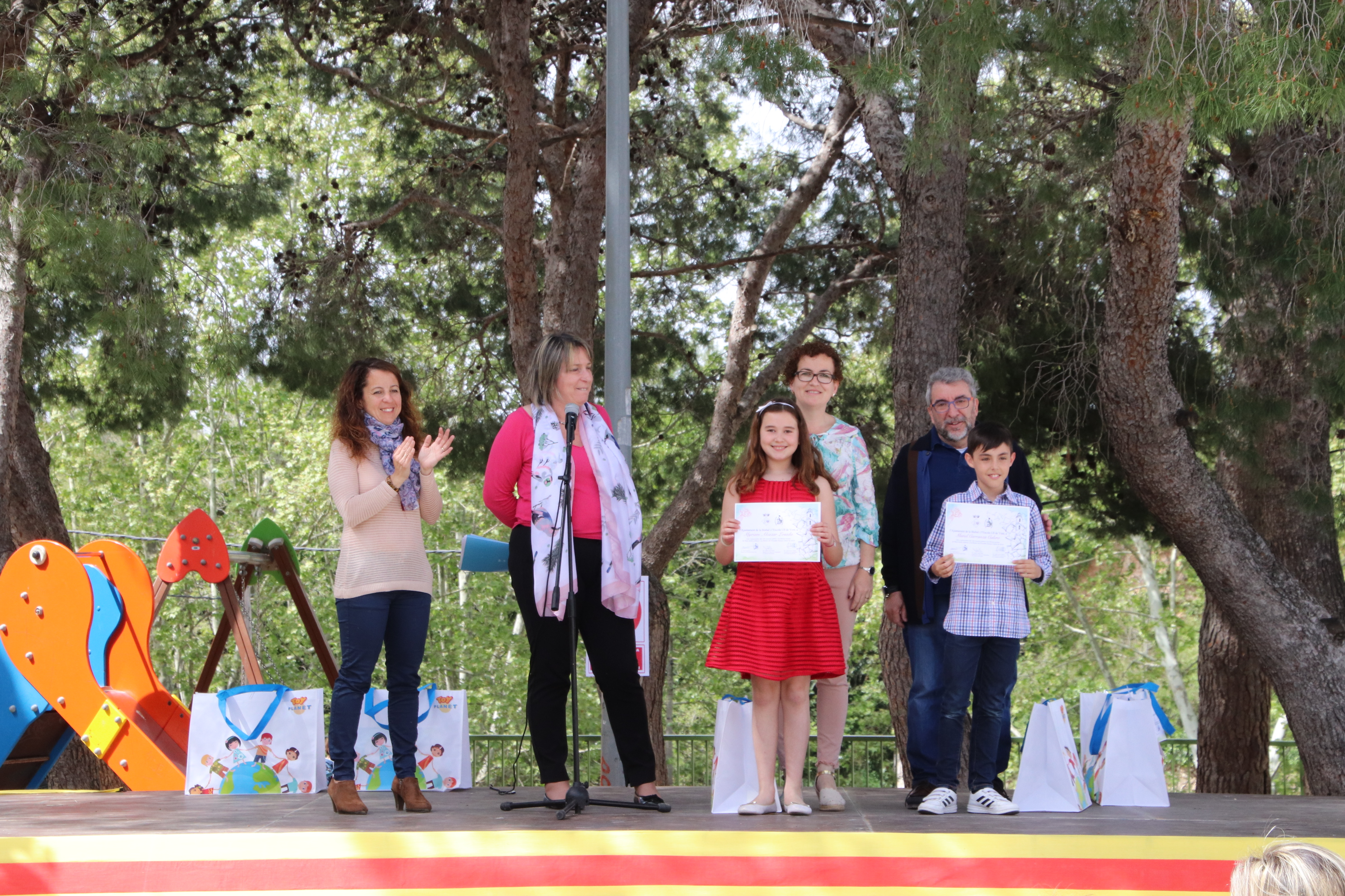 Aquest diumenge s'han entregat els premis del Concurs Literari Infantil de Sant Jordi