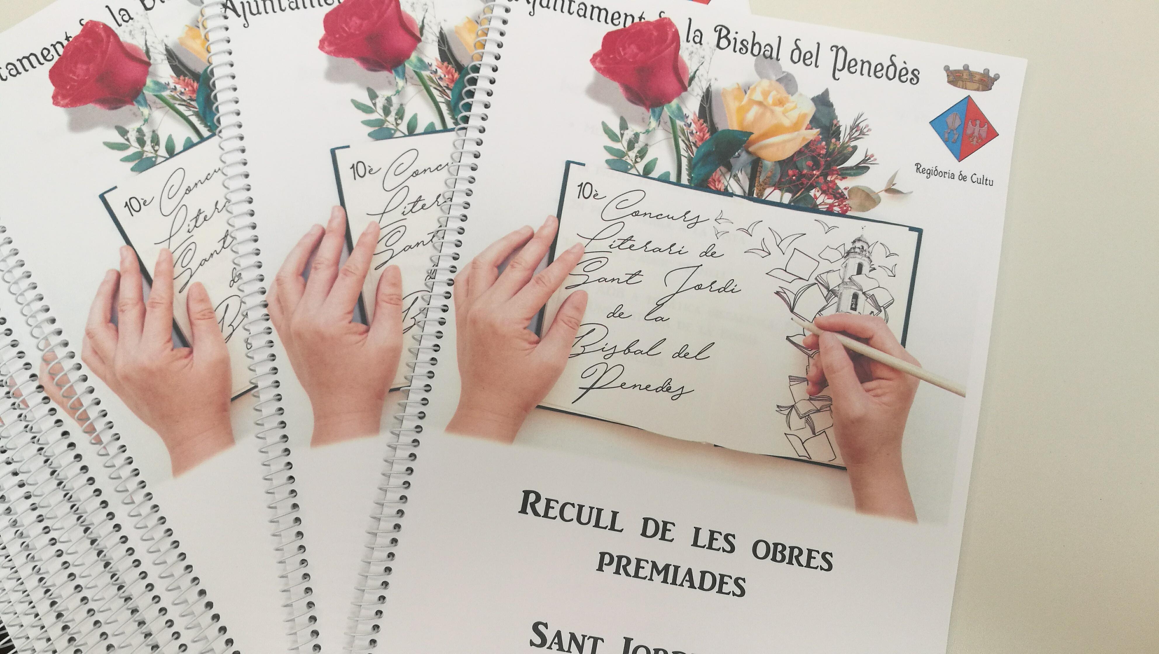 Voleu una còpia dels treballs premiats al 10è Concurs Literari de Sant Jordi?