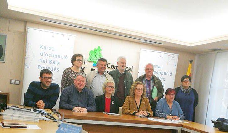 Aquest dimarts 3 d'abril s'ha presentat la Xarxa d'Ocupació del Baix Penedès